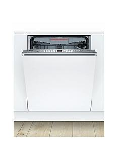 Bosch Serie 4 SMV46MX00G 12-Place Setting Integrated Dishwasher - White