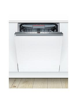 Bosch Serie 4 Smv46Mx00G 12-Place Setting Integrated Dishwasher - White Best Price, Cheapest Prices