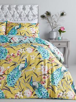 oriental-peacock-duvet-cover-set