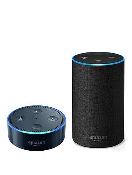 amazon-amazon-echo-dot-black-amp-echo-2nd-generation-charcoal