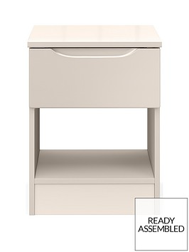 ideal-home-bilbao-ready-assembled-high-gloss-lamp-table--nbspcashmere
