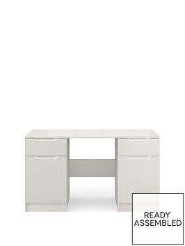 ideal-home-bilbao-ready-assembled-high-gloss-desk-grey