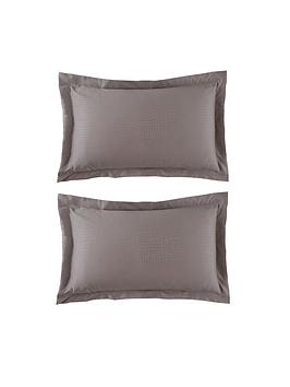 hotel-collection-snakeskin-egyptian-cotton-oxford-pillowcase-pair