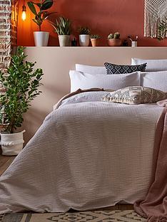 ideal-home-seersucker-100-cotton-duvet-cover-set