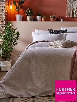 ideal-home-seersucker-200-thread-count-100-cottonnbspduvet-cover-set