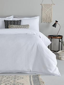 ideal-home-ideal-home-200tc-waffle-duvet-cover-set-sk