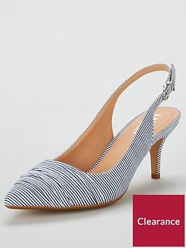 wallis-corrine-slingback-pointed-shoe-navy-stripe