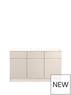 ideal-home-bilbao-ready-assembled-large-high-gloss-sideboard--nbspcashmere