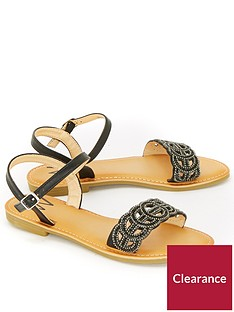 wallis-snoop-two-part-stud-sandal-black