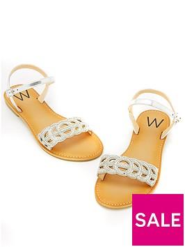 wallis-snoop-two-part-stud-sandal-silver