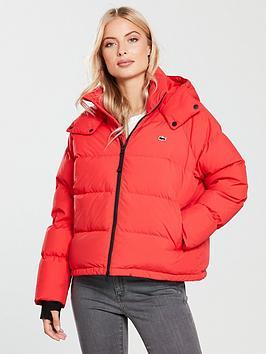 Lacoste Lacoste Blouson Short Padded Hooded Jacket