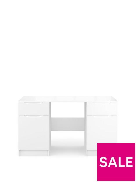 bilbao-ready-assembled-high-gloss-desk-white