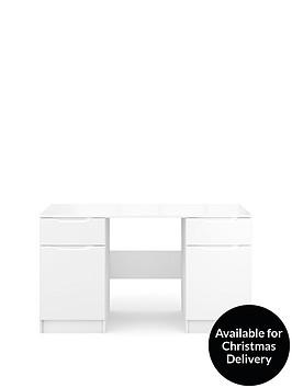 ideal-home-bilbao-ready-assembled-high-gloss-desk-white