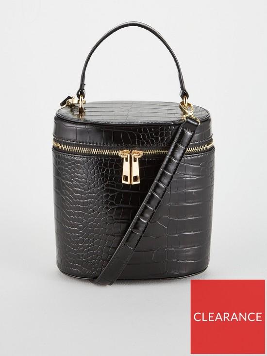 b2c5d08a5ada V By Very Parker Vanity Bag Black Very Co Uk