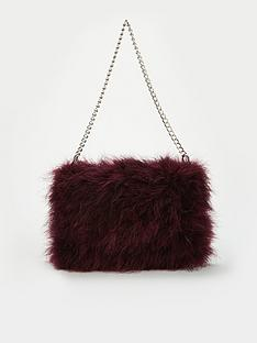 v-by-very-jamila-feather-bag-purple