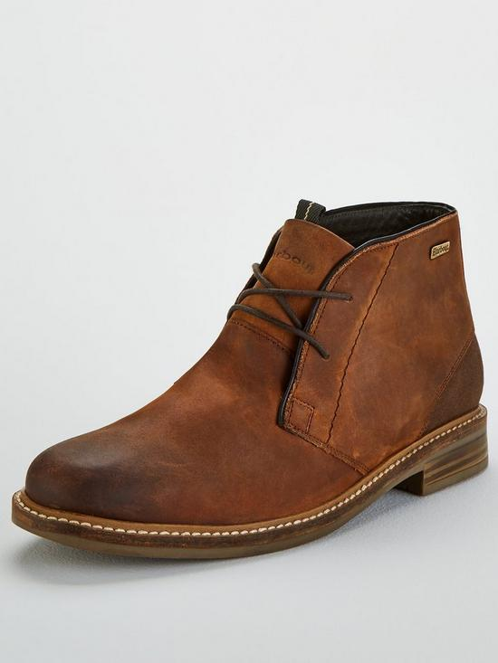 ee5f0474731 Barbour Readhead Chukka Boots - Tan | very.co.uk