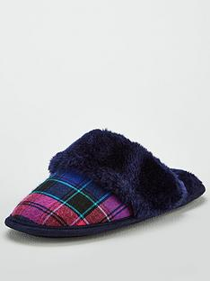 v-by-very-wren-check-mule-slipper