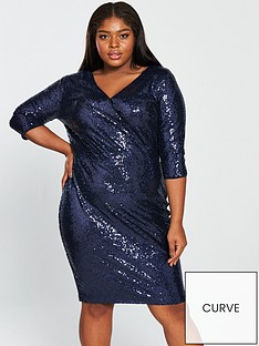 v-by-very-curve-sequin-wrap-dress-midnight-blue