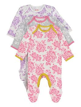 cath-kidston-baby-girls-floral-3-pack-sleepsuits