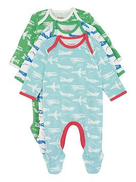 cath-kidston-baby-boys-planes-2-pack-sleepsuits
