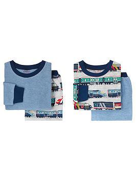 cath-kidston-baby-boys-2-pack-trains-pyjama-set