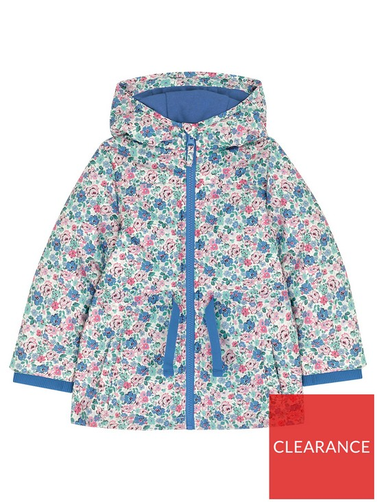 aeb5657b8 Cath Kidston Girls Mews Ditsy Quilted Floral Jacket - Off White ...