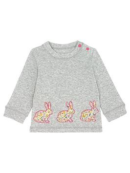 cath-kidston-baby-girls-long-sleeve-bunny-t-shirt-grey-marl