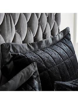 catherine-lansfield-crushed-velvet-pillowsham-pair-ndash-midnight-black
