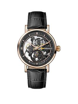 ingersoll-ingersoll-1892-the-herald-black-and-rose-gold-skeleton-dial-black-leather-strap-automatic-mens-mens-watch