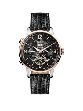 ingersoll-1892-the-grafton-black-and-rose-gold-chronograph-dial-black-leather-strap-automatic-mens-watch