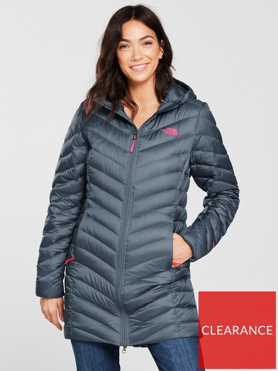 efd3cc9f44a1 THE NORTH FACE Trevail Parka - Grey