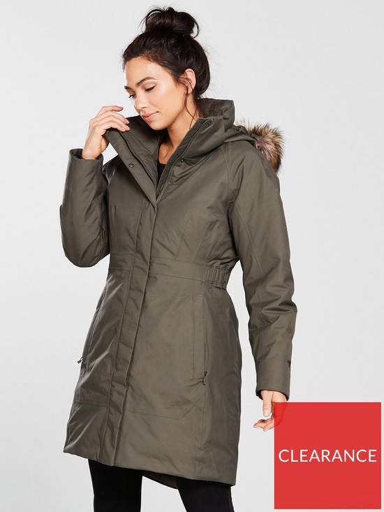THE NORTH FACE Arctic Parka II - Taupe Green  b488acee2