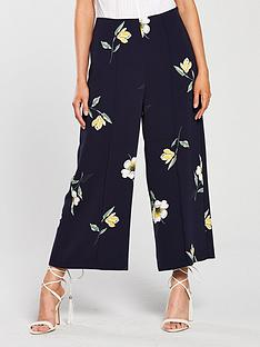 warehouse-buttercup-printed-culottes