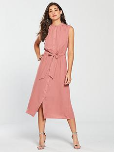 warehouse-washed-linen-shirt-dress
