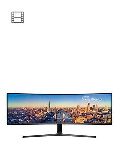 samsung-c49j890dkunbsp49inch-3840-x-1080-super-ultra-wide-curved-monitor