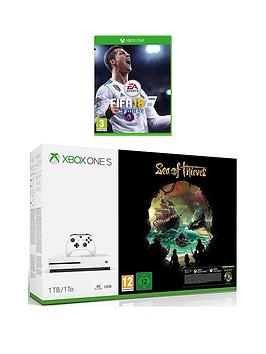 xbox-one-s-xbox-one-s-1tb-console-and-sea-of-thieves-bundle-fifa-18-wireless-controller-and-12-months-live