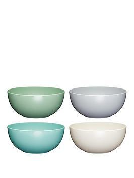 kitchen-craft-colourworks-classic-ndash-set-of-4-melamine-bowls