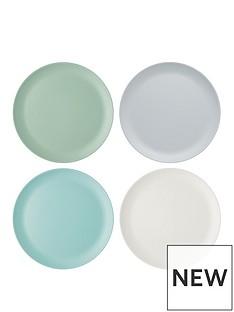 kitchen-craft-colourworks-classic-ndash-set-of-4-melamine-dinner-plates