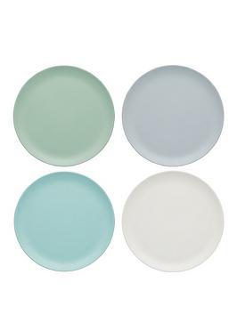 kitchen-craft-colourworks-classic-ndash-set-of-4-melamine-side-plates