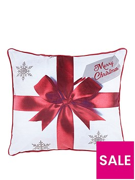 catherine-lansfield-merry-christmas-pressies-cushion