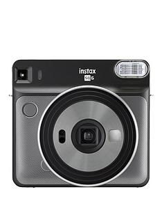 fujifilm-instax-square-sq6-instant-camera-with-optional-10-or-30-pack-of-paper-graphite-grey