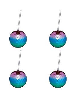 kitchen-craft-barcraft-set-of-4-disco-drinks-ball-cocktail-cup