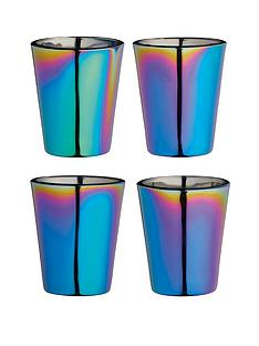 kitchen-craft-barcraftnbsprainbow-iridescent-shot-glasses-set-of-4