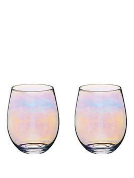 kitchen-craft-iridescent-600-ml-tumbler-glasses-ndash-set-of-2