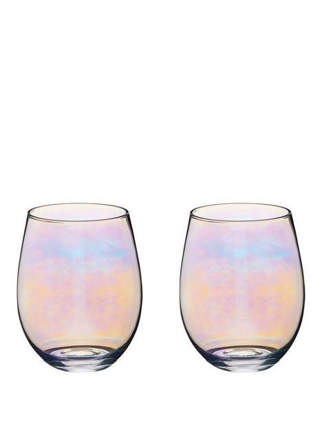 kitchencraft-iridescent-600-ml-tumbler-glasses-ndash-set-of-2