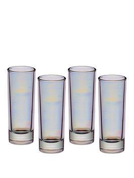 kitchen-craft-barcraft-raibow-iridescent-tall-shot-glasses