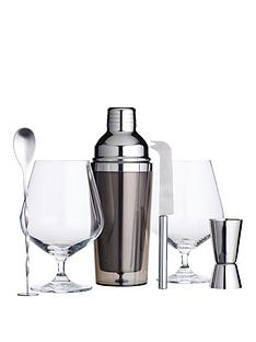 kitchencraft-barcraft-six-piece-gin-cocktail-set