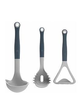 kitchencraft-colourworks-classics-3-piece-utensil-set
