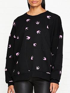 mcq-alexander-mcqueen-mini-swallow-sweatshirt-black