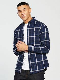 v-by-very-long-sleeved-linear-check